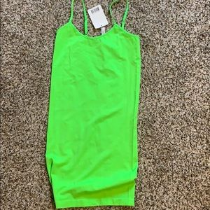 Dresses & Skirts - Neon green dress